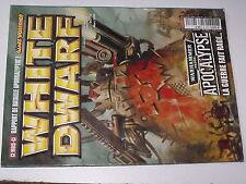 ¤¤ Revue White Dwarf n°179 Warhammer 40.000  Apocalypse Krabouillator Orks