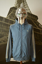 Men's Fred Perry Blue Hoodie Size L