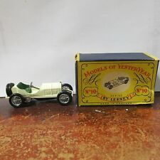 MERCEDES 1908 GRAND PRIX Y-10 MATCHBOX MODELS OF YESTERYEARS No.10 WITH BOX