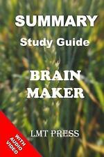 Brain Maker: Summary Study Guide : The Power of Gut Microbes to Heal and...