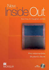 Macmillan NEW INSIDE OUT Pre-Intermediate Level Student's Book with CD-ROM @NEW@