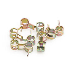 """10Pcs 6mm / 0.24"""" Spring Clip Fuel Oil Water Hose Pipe Tube Clamp Fastener New"""