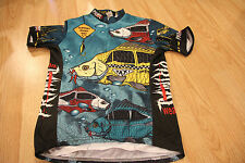 Primal Wear Carp a Diem RARE Cycling Jersey One Less Carp Size S