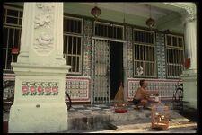 057032 restaurado casas en Joo Chiat terraza Detalle De Azulejo trabajo A4 Foto Impresión