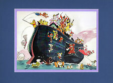 HANNA BARBERA CRUISE LINER MATTED PRINT Frame Ready Scooby Magilla Banana Splits