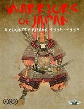 Warriors of Japan, A Country Aflame, New Wargame by MMP, English Edition