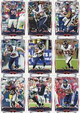 2014 Topps Houston Texans Complete Team Set 15 Different Cards w/4 RCs Clowney