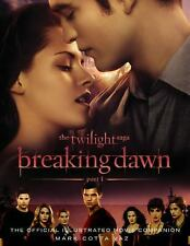 The Twilight Saga Breaking Dawn Part 1: The Official Illustrated Movie-ExLibrary
