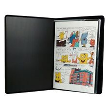 11 x 17 inch Comic Book Art Presentation Portfolio 48 pgs nylon stitching