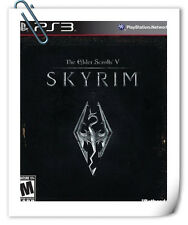 PS3 THE ELDER SCROLLS V SKYRIM 上古卷轴5 天际 中文版 Sony PlayStation RPG Games Bethesda