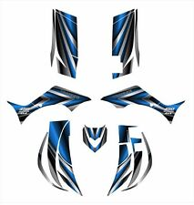 2006 - 2012 Yamaha Wolverine 450 graphics decal kit 2222-Blue