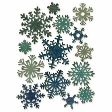 Sizzix THINLITS PAPER SNOWFLAKES MINI 661599 by Tim Holtz ~ KNOCKOUT CRAFTS