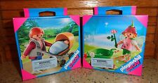 Playmobil Special Set of 2 Little Flower Fairy 4751/ Mother with Stoller 4756