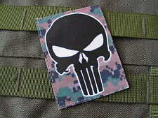 Patch Velcro - PUNISHER marpat digital - USMC sniper AIRSOFT scratch