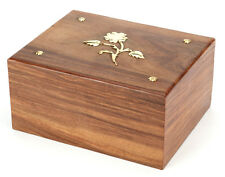 Cremation Ashes Urn /  Ashes Casket SOLID WOOD!!- Hadley 250 CI (UU110013A)