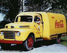 Vintage Coca Cola Yellow Delivery Truck 1940 Old Time Coke Truck Driver MUST SEE
