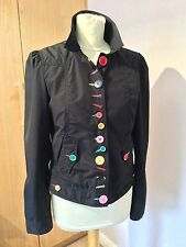 Amazing MOSCHINO vintage unique button jacket size 12