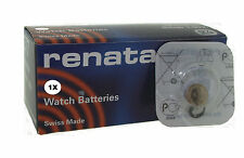 Renata Watch Battery 397 Replaces (SR726SW) 1.55v