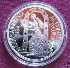 1995 Andorra Large Proof Silver 10 Diners Europa