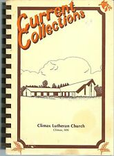 CLIMAX, MINNESOTA COOKBOOK - CLIMAX LUTHERAN CHURCH - 1988 - GREAT BOOK!!!