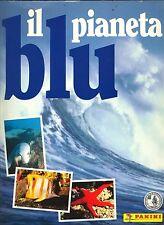 """PANINI: ALBUM FIGURINE """"Il Pianeta Blu"""" - COMPLETO 1995 + 22 Piccoli Pesci"""