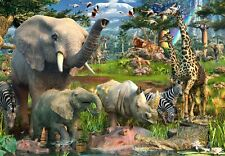 At the Waterhole - 18000 piece puzzle by Ravensburger