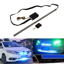 "21"" Multi Color LED Knight Rider Scanner Lighting Strip Kit w/ Remote Control"