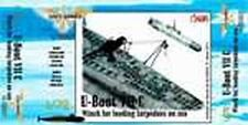 CMK Navy N72007 1/72 Resin WWII German U-boot VII Winch for Load Torpedoes@Sea