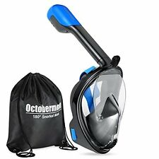 Octobermoon 180°Full view Panoramic Snorkel Mask-Full Face snorkeling Design.wi