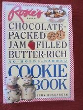 ROSIE'S BAKERY CHOCOLATE PACKED JAM FILLED BUTTER RICH COOKIE BOOK 1996 PB