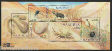 Namibia 2000 MS, ANIMALS BIRDS REPTILES Eggs Nest, Namib Dunes, Beetle  - Si13