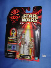 Star Wars 1999 ODY MANDRELL and OTOGA 222 PIT DROID Ep. 1  w/COMMTECH Chip MOC