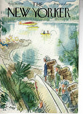 NEW YORKER MAGAZINE ORIGINAL COVER 28TH AUGUST 1948