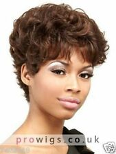 100% Real hair! Fashion wig New Women's Short Brown Curly Human Hair Wigs