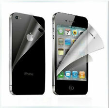4 FRONT + 2 BACK Clear Front Anti Scratch Screen Cover for Apple iphone 4 4S 4GS