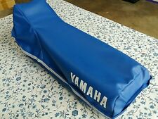 Yamaha XT 350 1984-2000 Seat Cover Blue WITH STRAP (Y3)