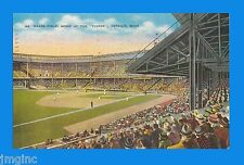 """Navin Field, Home of the """"Tigers"""", Detroit, MI- Postcard reproduction"""