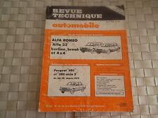 REVUE TECHNIQUE ALFA ROMEO ALFA 33 BERLINE BREAK ET 4X4