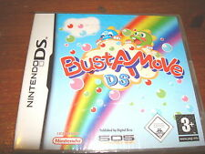 BUST A MOVE ** NEW & SEALED **  Nintendo Ds Game