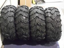 "27"" BEAR CLAW EVO ATV TIRES FULL COMPLETE SET 4 (2) 27X9-12  (2) 27X11-12"