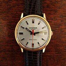 Vintage GF Swiss Eterna Sonic Omega f300 f300Hz Electronic Watch SERVICED