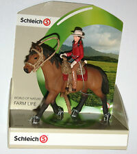 Schleich Farm - WESTERN RIDER Figure & Horse SET - 42112 *New*