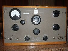 1940s AUDIO SIGNAL GENERATOR 205AH Hewlett Packard VINTAGE Tube radio equipment