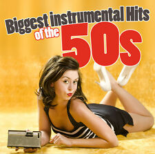 CD Biggest Instrumental Hits of the 50s by Various Artists 3CDs