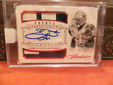 Panini Flawless Ruby On Card Autograph Jersey Cowboys  Emmitt Smith 06/15  2014