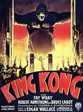 FILM KING KONG HORROR MONSTER ART POSTER PRINT LV1572