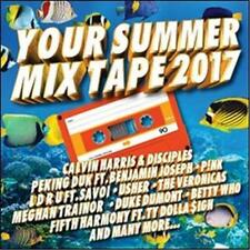 YOUR SUMMER MIX TAPE 2017 VARIOUS ARTISTS 2 CD NEW
