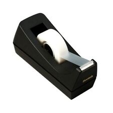 Scotch Tape Dispenser 1in Core Black Weighted Non-Skid Base Office Desk Supplies