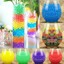 1000pcs Water Plant Flower Jelly Crystal Soil Mud Water Gel Beads Balls Garden