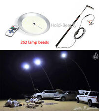 4.6M Outdoor RC Telescopic Rod LED Camping Lamp Light Emergency Lantern 100W